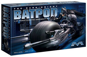 Batman The Dark Knight Rises Bat Pod 1:25 scale 920 (first edition) from Moebius