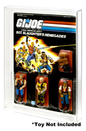 GI Joe Slaughters Renegades Action Figure DISPLAY CASE Cobra La