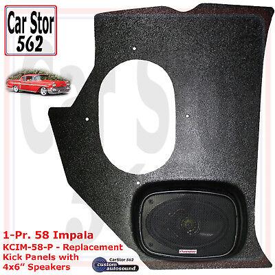"Custom Autosound KMOP-67//6-PIO Kick Panels/&4X6/"" Speakers 64-76 Mopar /""A/"" Body"