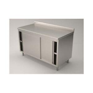 Mesa-de-160x60x85-de-acero-inoxidable-430-armadiato-planteadas-restaurante-pizze