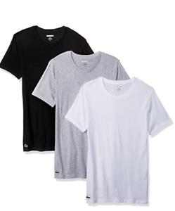 8e7145bb LACOSTE Men's Essentials 1 Tee-Shirts Crew Neck *Classic Fit 100 ...