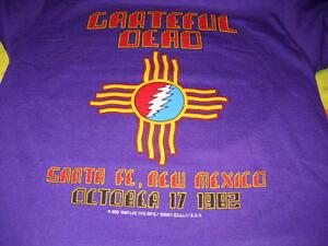 GRATEFUL-DEAD-SANTA-FE-NEW-MEXICO-OCT-17-1982-LIGHTNING-BOLT-CONCERT-T-SHIRT-M