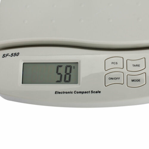 Postal Scale Digital Shipping Electronic Mail Packages Capacity of 25KG//55LB US