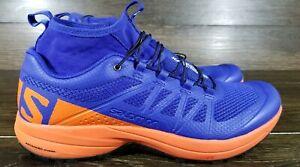 Details about NEW SIZE 9 Running Shoes Salomon Xa Enduro, Profeel, Blue Orange, 392408,