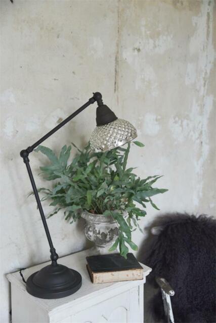 Jeanne d´Arc living Franz.Lampe Deckenlampe Ø 20 cm Leuchter Bauernsilber Metall