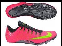 Nike Superfly R4 Track Running Spikes Hyper Punch 526626-603 Men 12.5 Womens 14