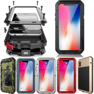 watch bd62f fa11f Details about Waterproof Shockproof Aluminum Gorilla Glass Metal Cover Case  For Apple iPhone