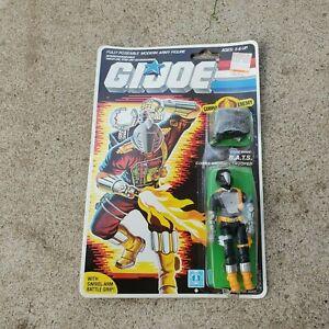 Vintage GI Joe Figure MOC 1986 BATS complete unopened and rare