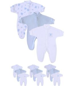Premature  Baby Clothes Tiny sleepsuit all in one Boy Girl 3-5 Newborn Reborn