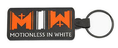 MOTIONLESS IN WHITE Keychain Keyring Key Chain Key Ring V2