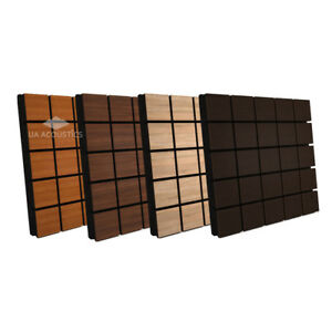 2pcs-50-50-3cm-Sound-Absorption-Diffuse-Acoustic-Panel-034-Grid-034-laminated-wood