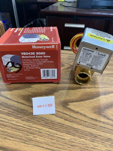 Honeywell V8043E5020 24V 1 Sweat N.C Zone Valve