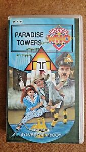 Doctor-Who-Paradise-Towers-VHS-H-1995-Sylvester-McCoy