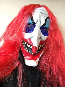 Caricamento dell immagine in corso Pagliaccio-Spaventoso-Maschera -adulto-Evil-IT-Vestito-per- 8fa3aed28cf2
