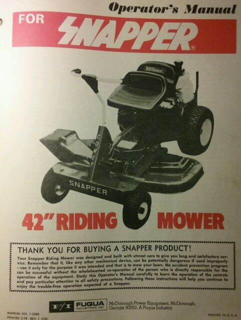 """Snapper 33"""" 12. 5 hp rear engine rider series 11   3312511be."""