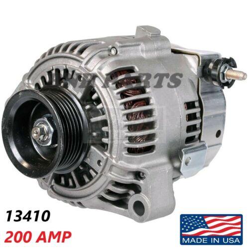 200 AMP 13410 Alternator Lexus SC300 92-94 High Output Performance NEW HD