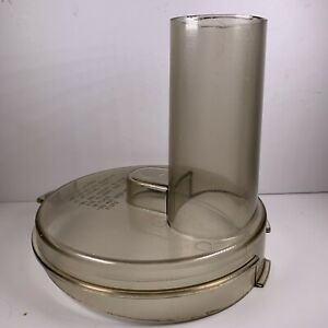 Vintage General Electric GE Food Processor D1FP1-4200 Lid Amber Parts