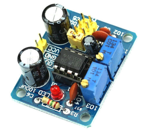 NEW NE555 Duty Cycle and Frequency Adjustable Square Wave Module DIY Kit