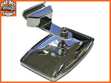 Classic Car Rectangular Clip On 1/4 Light Overtaking Mirror