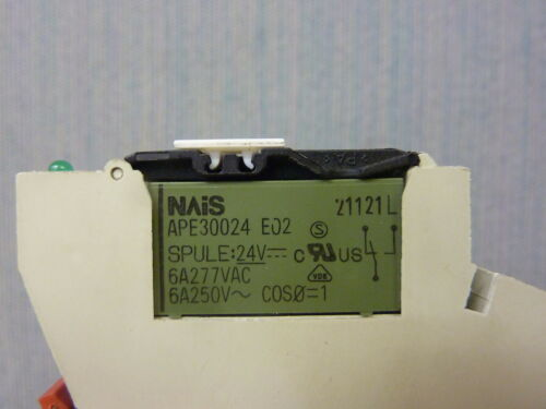 13276 Weidmuller MRZ24VDC-1CO Safety Relay with APE30024