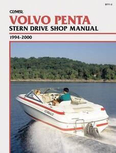 1994-2000-Volvo-Penta-Stern-Drive-Clymer-Marine-Shop-Repair-Service-Manual-B7712