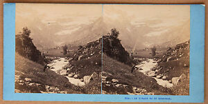 Il-Circo-Di-Gavarnie-Pirenei-Stereo-Vintage-Albumina-Ca-1870