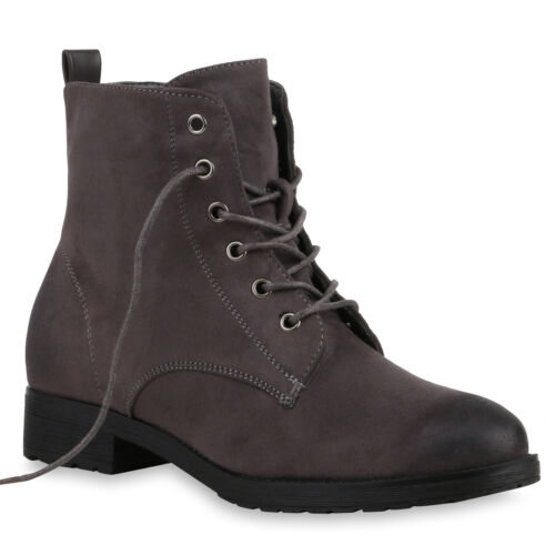 893184 Schuhe Damen Schnürstiefeletten Profil Sohle Stiefeletten New Look