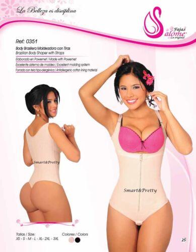 Faja Colombiana Reductora Original Salome Ref0351 Thong//Hilo Tummy Control Waist