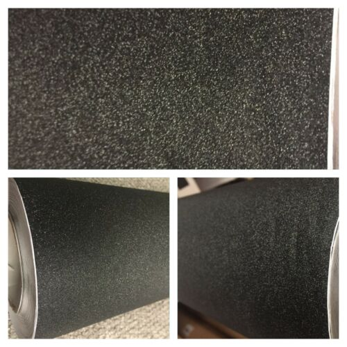FROSTED BLACK glitter Matte CHROME LIGHT BLACK Brushed Black Vinyl Car Wrap