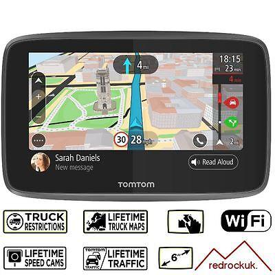 TomTom Go Professional 620 GPS Truck Sat Nav -  Europe - Lifetime Maps & Traffic