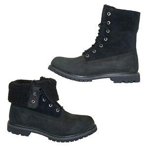 Timberland-Authentics-Teddy-Fleece-Boots-Waterproof-Winter-Damen-Stiefel-8149A