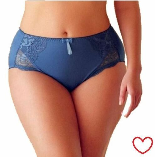 Ladies Pants Womens Knickers Lace Briefs Underwear Blue Floral