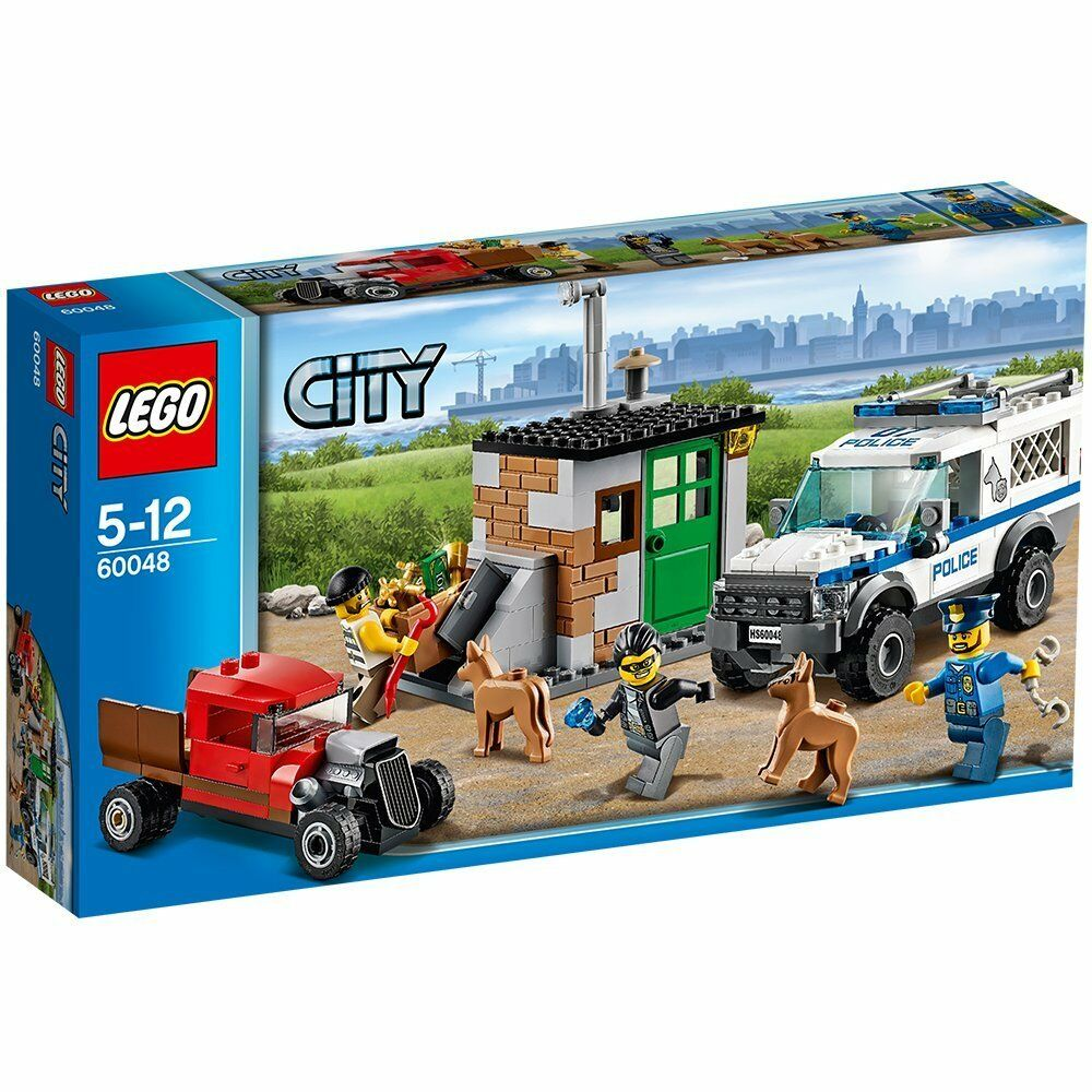 LEGO CITY 60048 60048 60048 Gauner Versteck City Polizei Baukasten System 5-12J NEUw&OVP rar 5234fb