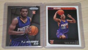 2014-15-Prizm-Base-Rookie-TJ-Warren-263-Hoops-RC-273-Suns-Indiana-Pacers