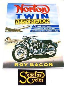 Copieux Norton Double Restauration Livre Roy Bacon Commando Lit De Plume Dominator Rendre Les Choses Pratiques Pour Les Clients