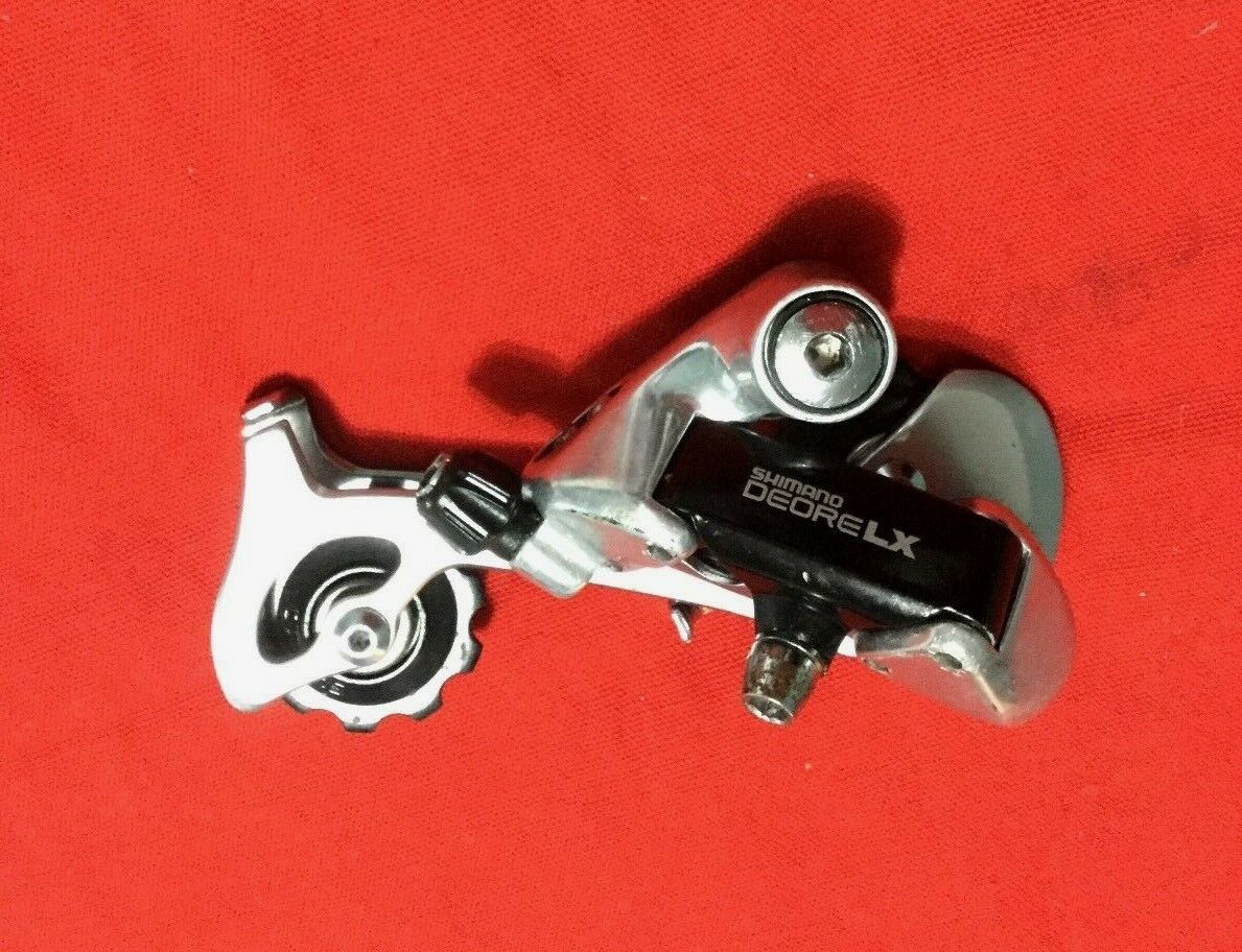 Shimano Deore LX Rear Derailleur Long  Cage Classic Mountain Bike RD-M550 7 speed  offering 100%