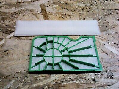 Pour SEBO BS36 BS46 360 460 Aspirateur Pré /& Post Moteur Kit De Filtre 1044 1467