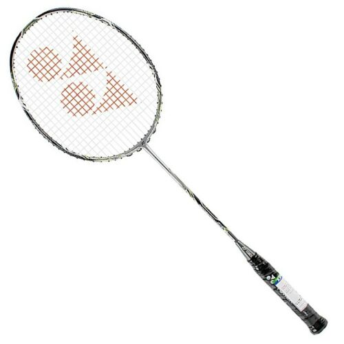 SET OF 2 PCS +FREE SHIPPING YonexGr 303 Badminton Racquet,SILVER