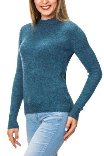 Pieces Damen Wollpullover Strickpullover Damenpullover Wolle Strick Pulli SALE /%