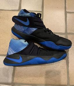 Details about Nike Kyrie Irving 2 Basketball Men's Size 13 843253-992  Nikeid Blue,Black