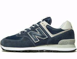 2020 New Balance 574 Suede Leather Blue