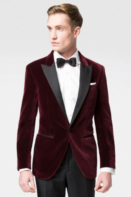 Christmas Party Suit Men.Men Velvet Tuxedo Blazer Jacket Ehs Maroon Elegant Luxury Christmas Party Wear