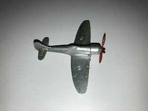 Rare Original WW2 cast aluminium miniature model aircraft Hawker Tempest IIs