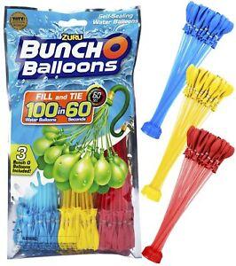 ZURU-Bunch-O-Balloons-105-Stueck-selbstschliessende-Wasserbomben-MIXED