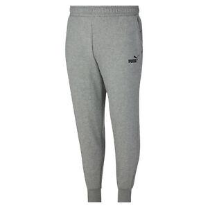 PUMA-Men-039-s-Essentials-Logo-Sweatpants-BT