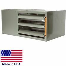 unit heater commercial low profile natural gas power vented btu - Natural Gas Garage Heater