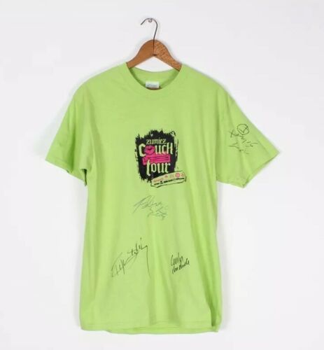 The 2004 Zumiez Couch Tour T-Shirt Slime Green Rya