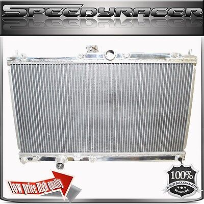 Manual Performance Racing Aluminum Radiator 03-07 Mitsubishi Lancer EVO 7/8/9