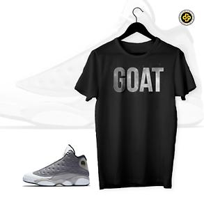 9cbfbfb7338bbc GOAT To match Air Jordan 13 ATMOSPHERE GREY Shoe Mens Pro Club Tee ...