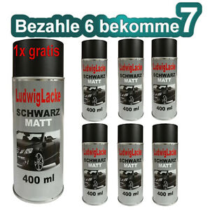 Noir-Mat-6-Spray-Laque-Chaque-400ml-amp-1-Canette-Gratuit